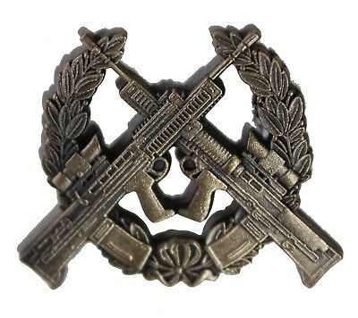 Official Issue British Army Metal Marksman Badge ( Sniper Sharp Shooter Shooting