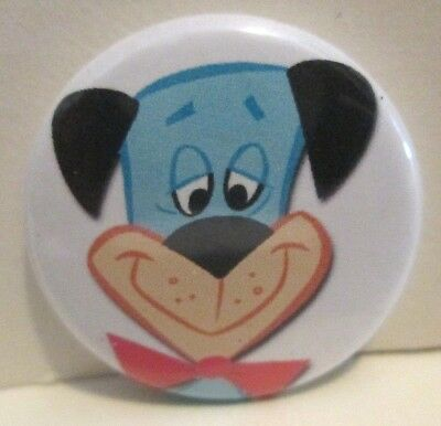 Huckleberry Hound Character Promo Pinback Pin Button Hanna Barbera Cartoon