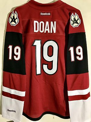 newest collection bc181 6326a Reebok Women's Premier NHL Jersey Phoenix Coyotes Shane Doan Burgundy Alt  sz L