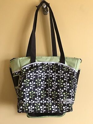 JJ Cole Mode Diaper Tote Bag, unisex EUC no rips, stains, or tears.  Free Ship!!