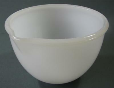 Vintage milk glass Sunbeam 9B Mixmaster mixing bowl small