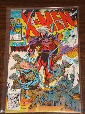 X-Men #2 Vol2 Marvel Comics Wolverine November 1991
