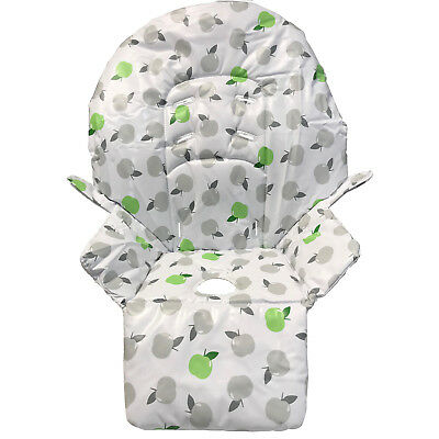 Replacement High Chair Cover For Argos Cuggl Plum Deluxe High Chair (Apples)
