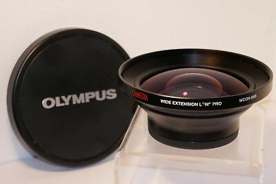 Olympus Camedia Wide Extension Lens Pro WCON-08B, Fits 62mm Thread