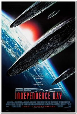 INDEPENDENCE DAY - 1996 - original 27x40 Movie Poster - Style B - WILL SMITH
