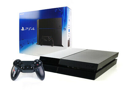 (R) Sony PS4 Konsole - 500GB SCHWARZ Bundle +Subsonic Controller Playstation 4