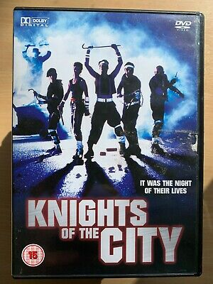 Knights of the City DVD 1986 Crime Thriller with Leon Isaac and Kennedy Nicholas