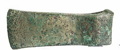 Ancient European Prehistoric Bronze Age Axe .