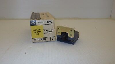 Allen Bradley 1495-N5 Auxiliary Contact Kit 1No-1Nc Contact Series A