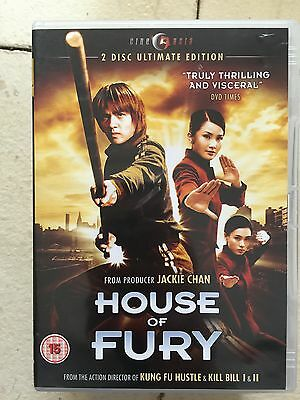 Anthony Wong House of Fury ~2005 Hong kongfilm ~ GB cineasia 2-Disc DVD