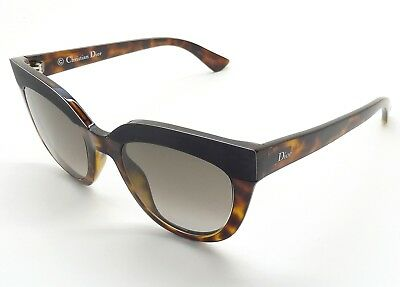 c9355c7f35 Christian Dior SOFT 1 EDJHA Sunglasses Havana Black Brown Gradient UA16-4 25