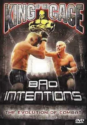 King of the Cage: Bad Intentions [DVD] [Region 1] [US Import] [NTSC], Good DVD,