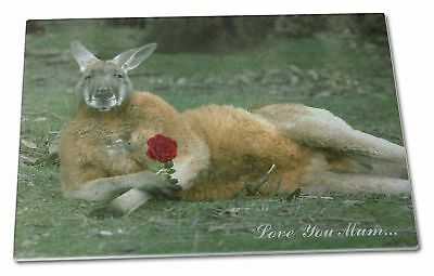 Kangaroo+Rose 'Love You Mum' Extra Large Toughened Glass Cutting, , AK-1RlymGCBL