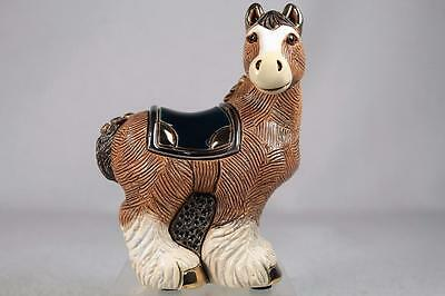 DeRosa Rinconada Family Collection NEW-2016 'Clydesdale' Horse #F191 New In Box