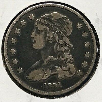1831 25C Capped Bust Quarter, Variety? (35791)
