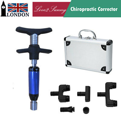 Multi-use Manual Chiropractic Adjusting Tool Portable Instrument Spine Massager