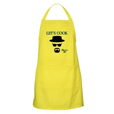 CafePress BREAKINGBAD LET's COOK Apron Full Length Cooking Apron (1716872613)