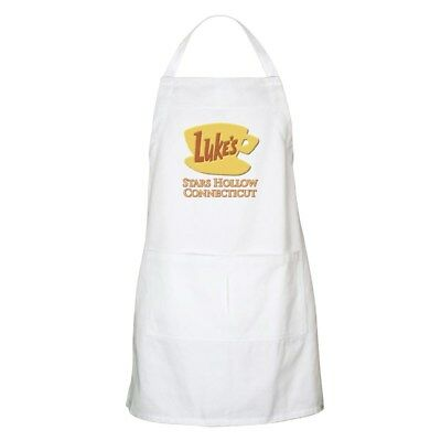 CafePress - Luke's Diner Stars Hollow Gilmore Girls Apron - Cooking Apron