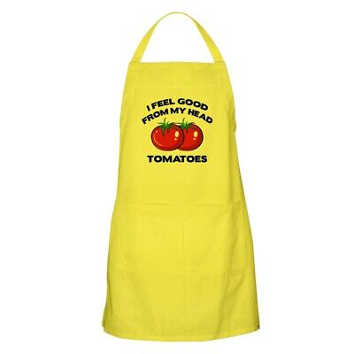 CafePress - I Feel Good From My Head Tomatoes Apron - Full Length Cooking Apron