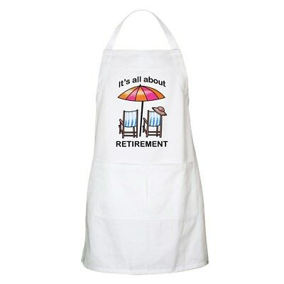 CafePress - Retirement Apron - Full Length Cooking Apron