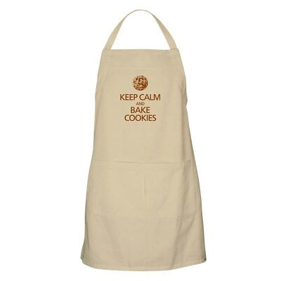 CafePress - Keep Calm And Bake Cookies Apron - Full Length Cooking Apron