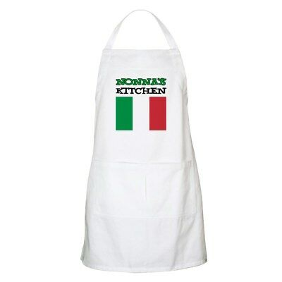 CafePress - Nonna's Kitchen Italian Apron - Full Length Cooking Apron