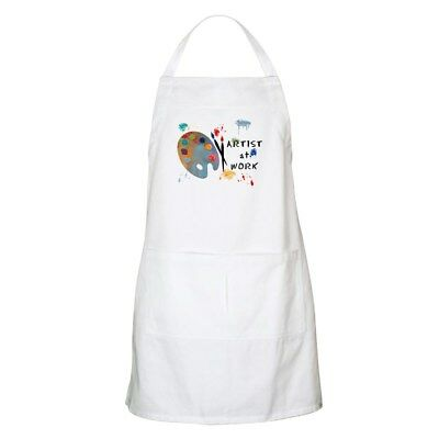 CafePress - Artist At Work Apron - Full Length Cooking Apron