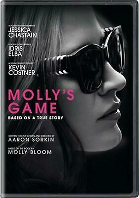 Molly's Game - DVD Region 1 Free Shipping!