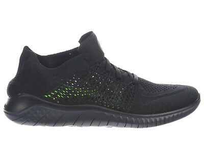 82ed20be674e New Mens Nike Free Rn (Run) Flyknit 2018 Running Shoes Trainers Black    Anthraci