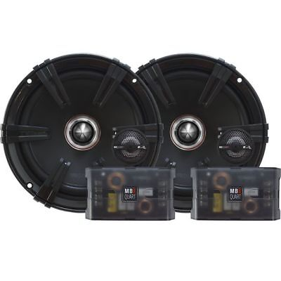 "Pair MB Quart ZC1-216 6.5"" 240w Car Componet Speakers w/Titanium Dome Tweeters"