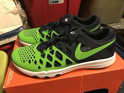 6b89fd365fd0 NEW Nike Train Speed 4 AMP NFL Seattle Seahawks Mens Shoes Size 11.5