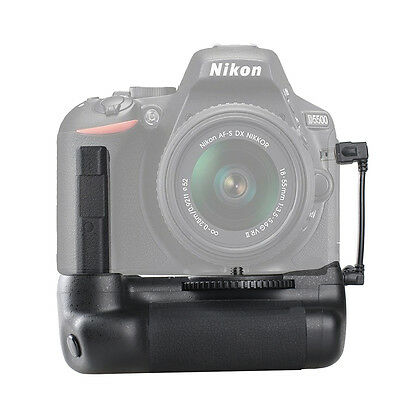 Vertical Battery Grip Pack Hand Holder For Nikon D5500 D5600 DSLR Camera