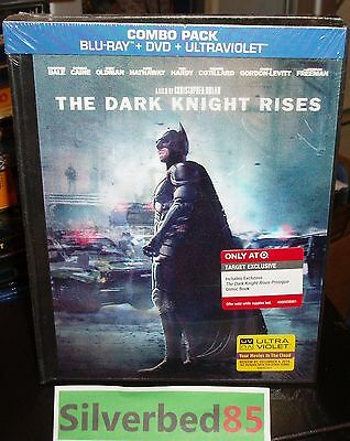THE DARK KNIGHT Batman Blu-ray/Dvd/UV Digibook Lenticular Cover Target Exclusive
