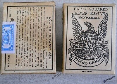 Pharo playing cards Faro 1800's western cowboy sealed box