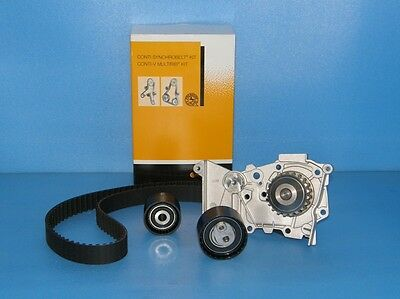 Timing Belt Kit ContiTech ct1126k2 Renault 1.6 16V + Water Pump