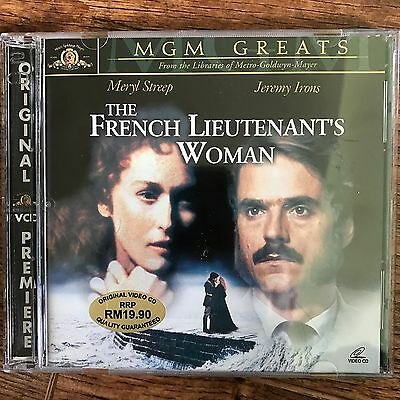 MERYL STREEP JEREMY IRONS THE FRENCH LIEUTENANT'S WOMAN ~ 1981 drame 2-Disc VCD