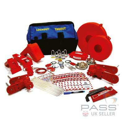 Premium Valve Lockout Tagout Kit