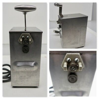 Commercial Grade EDLUND 203 Electric Can Opener High/Low Speed table Top/1-PH