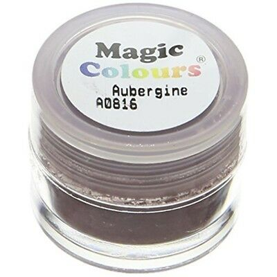Magic Colours Edible Petal Dust Aubergine - 7ml