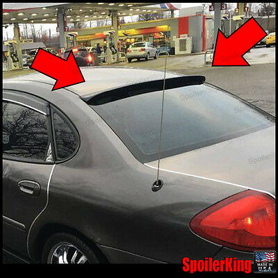 spoilerking 380r rear window roof spoiler fits toyota tercel 2dr 1995 99 pepa bonett