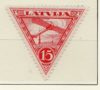 Latvia 1931 Early AIR Issue Fine Mint Hinged 15s. 233060