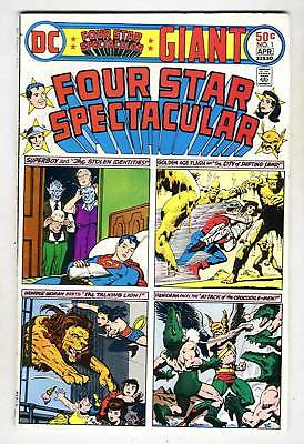 DC Comics FOUR STAR SPECTACULAR #1 Giant Superboy from Apr. 1976 in VG/F con.
