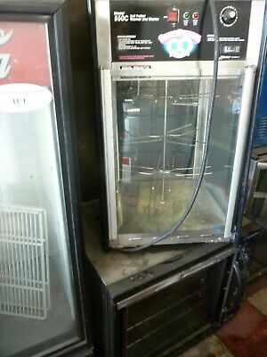 Jj Pizza, Pretzel Etc  Model 850C, Glass Food Warmer/merch 115V,900 Moer Item