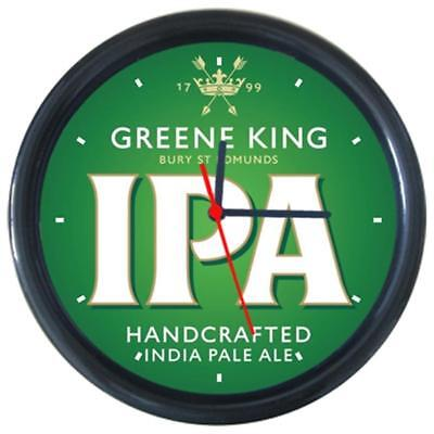 Greene King IPA Cola Beer Beverage Bar Pub Club Round Wall Clock