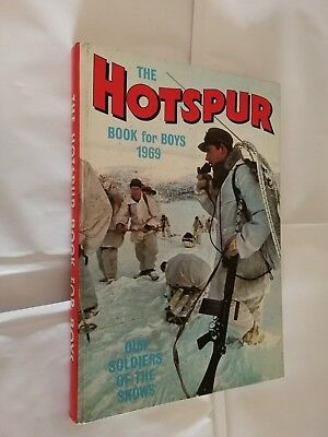 The Hotspur Book For Boys (Annual) 1969 *Unclipped Price Tag*