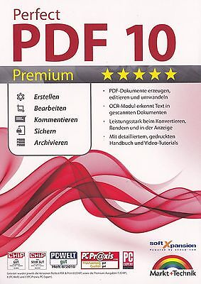 Perfect PDF 10 Premium - Markt und Technik