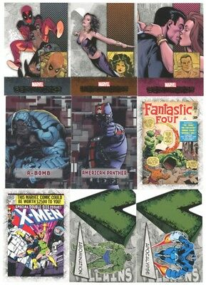 2012 Upper Deck Marvel Beginnings III Master Set