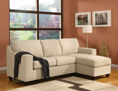 ACME Vogue Microfiber Reversible Chaise Sectional Sofa