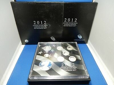 2012 US Mint Limited Edition Silver Proof Set with American Eagle Dollar