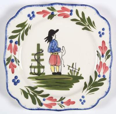 Blue Ridge Southern Pottery FRENCH PEASANT Square Salad Plate 2436359